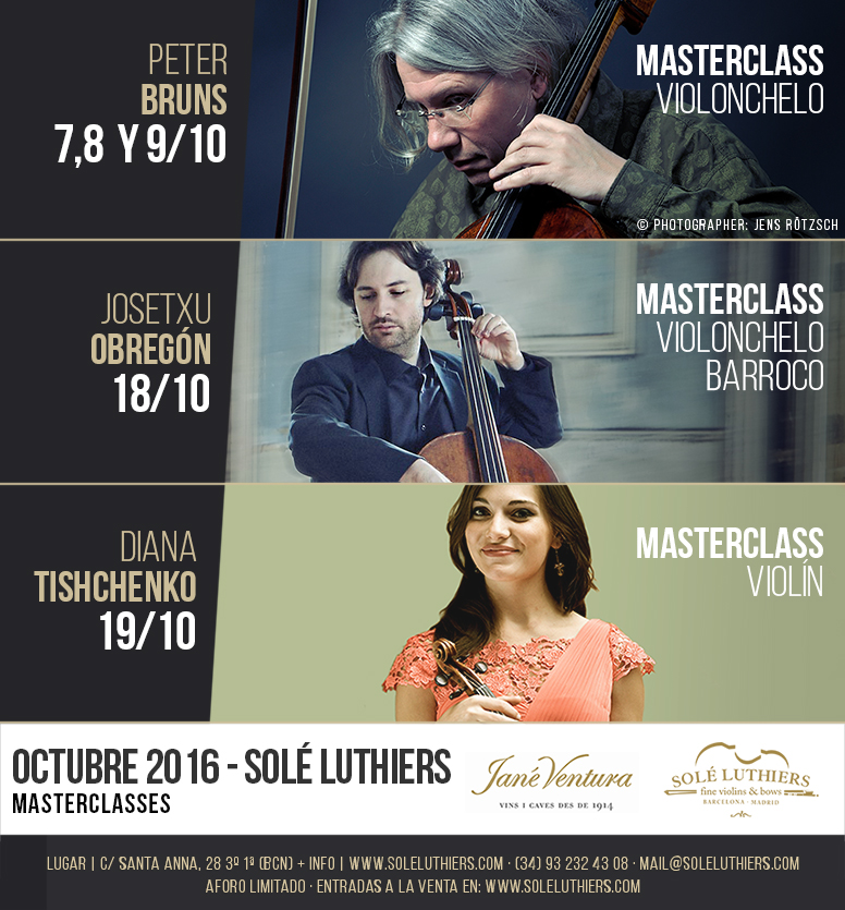 Masterclases y conciertos de música clásica